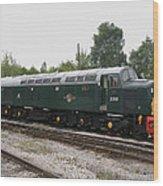 Class 40 Diesel Wood Print