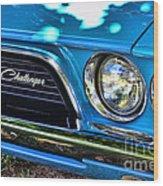 Classic 1974 Dodge Challenger Wood Print