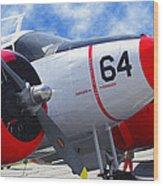Classic Aircraft Wood Print