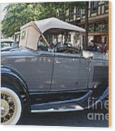 Classic Antique Car - Ford 1920s Wood Print