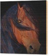 Classic Arabian Wood Print