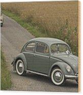Classic Beetle  2 Wood Print