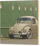 Classic Beetle 7 Wood Print