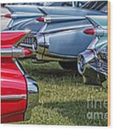 Classic Caddy Fin Party Wood Print