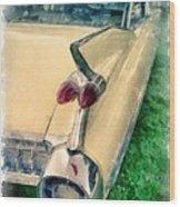 Classic Caddy Fins Wood Print