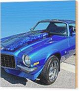 Classic Car 1973 Camaro 1 Wood Print