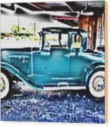 Classic Car 2 Wood Print