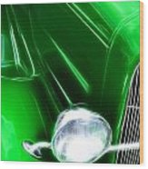 Classic Cars Beauty By Design 2 Wood Print