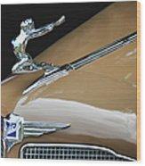 Classic Car - Buick Victoria Hood Ornament Wood Print