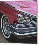 Classic Car Collection Wood Print