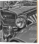 Classic Car Detail Wood Print