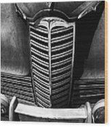 Classic Car Packard Grill Wood Print