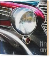 Classic Cars Beauty By Design 1 Wood Print