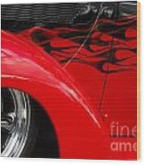 Classic Cars Beauty By Design 11 Wood Print