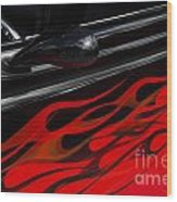 Classic Cars Beauty By Design 12 Wood Print