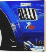 Classic Cars Beauty By Design 6 Wood Print