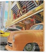 Classic Car's Of Las Vegas Wood Print