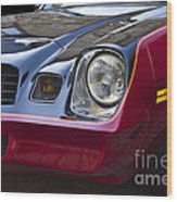 Classic Chevrolet Camaro Wood Print