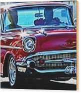 Classic Chevrolet Wood Print