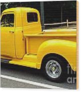 Classic Chevy Truck Wood Print