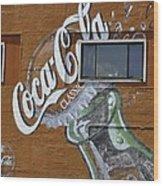 Classic Coca-cola Wood Print