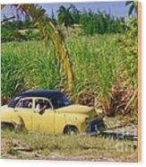 Classic Cuba Wood Print