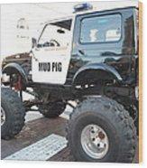 Classic Custom Jeep Wood Print