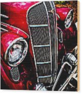 Classic Dodge Brothers Sedan Wood Print