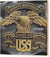 Classic Eagle Wood Print
