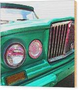 Classic Jeep J3000 4 Wheel Drive By Sharon Cummings Wood Print