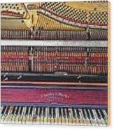 Classic Keys  Wood Print