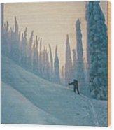 Classic Kootenay Wood Print