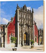 Classic Metropolitan Tabernacle In Mexico City Wood Print