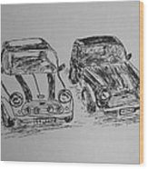 Classic Minis Wood Print