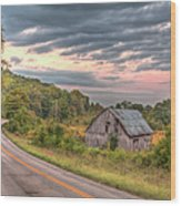 Classic Missouri Barn Wood Print