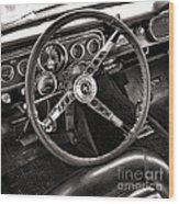 Classic Mustang Wood Print