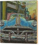 Classic Pontiac Wood Print