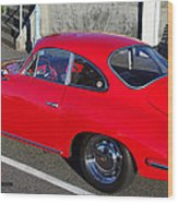 Classic Porsche 356c Wood Print