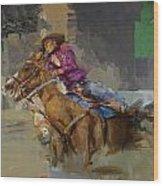 Classic Rodeo 3b Wood Print