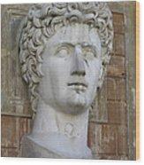 Classic Roman Noble Wood Print