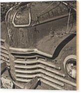 Classic Rust Wood Print