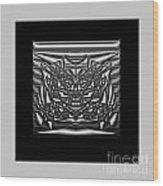 Classic Shine - Silver Wood Print