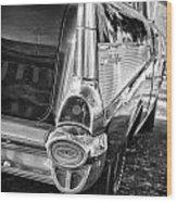 Classic Steel Wood Print