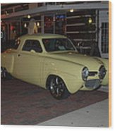 Classic Studebaker Wood Print