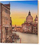 Classic Venice Wood Print