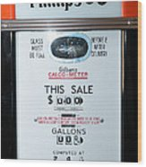 Classic Vintage Gilbarco Phillips 66 Gas Pump Dsc02751 Wood Print
