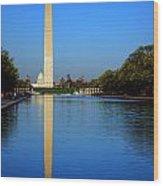 Classic Washington Wood Print