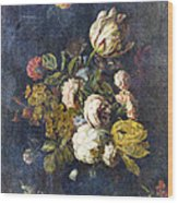 Classical Bouquet - S0104t Wood Print