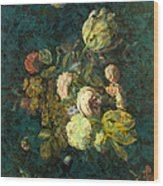 Classical Bouquet - S04bt01 Wood Print by Variance Collections