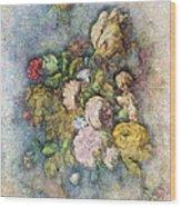 Classical Bouquet - V01c Wood Print